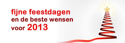 de beste wensen voor 2013