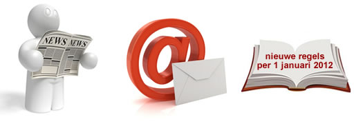 regels voor versturen email nieuwsbrief